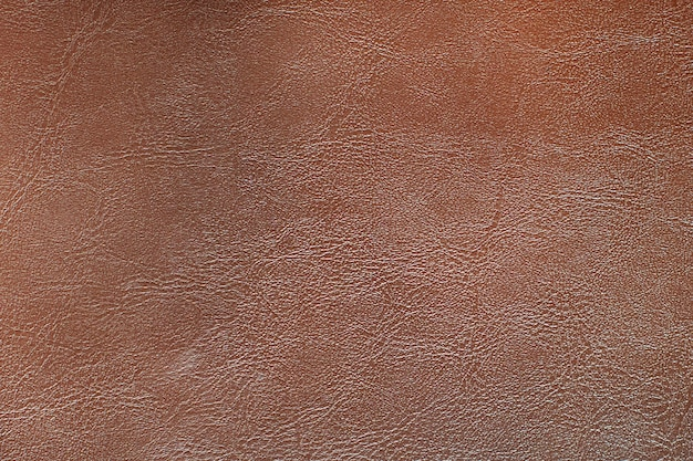 Strukturierter hintergrund aus rötlichbraunem leder