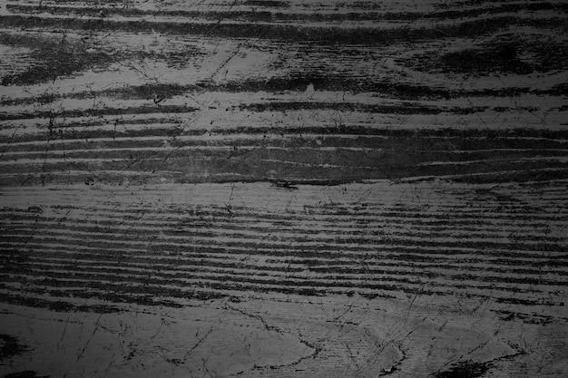 Strukturierter hintergrund aus schwarzem holzbrett plan