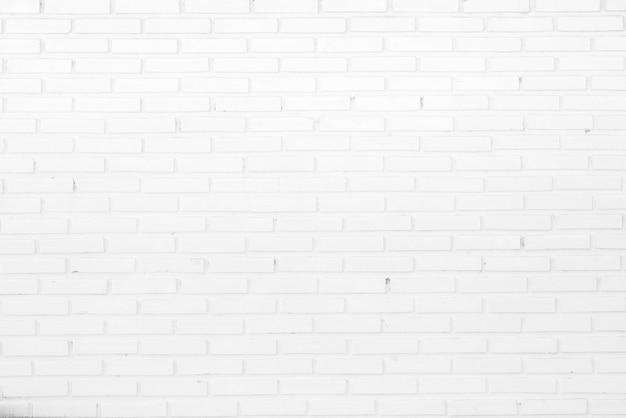 Strukturierter hintergrund der abstrakten weißen backsteinmauer.