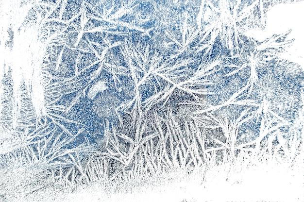 Strukturierter hintergrund des abstrakten weihnachtsnatur-eises