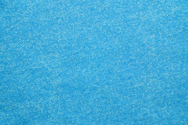 Strukturierter hintergrund des blauen und weißen baumwollgewebes