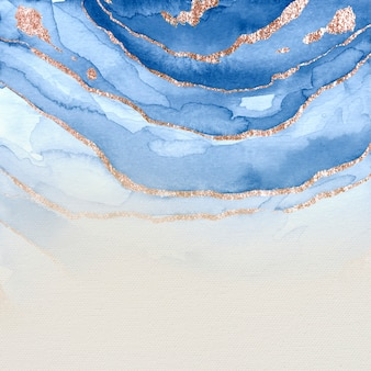 Strukturierter hintergrund in blau schimmernder farbe