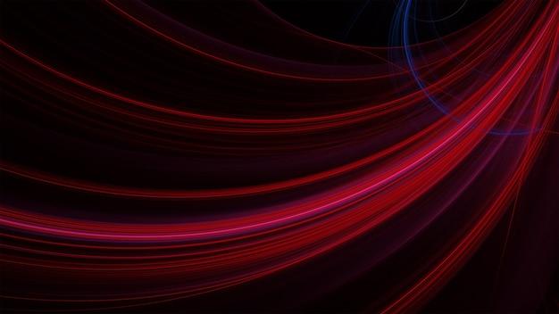 Strukturierter hintergrund mit roten gekrümmten linien
