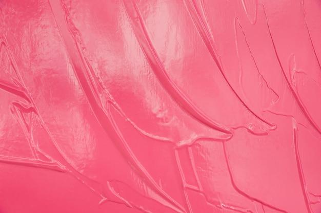 Strukturputz rosa. künstlerischer hintergrund handgemacht. farbfleck