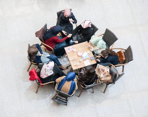 Studenten an der modernen universität