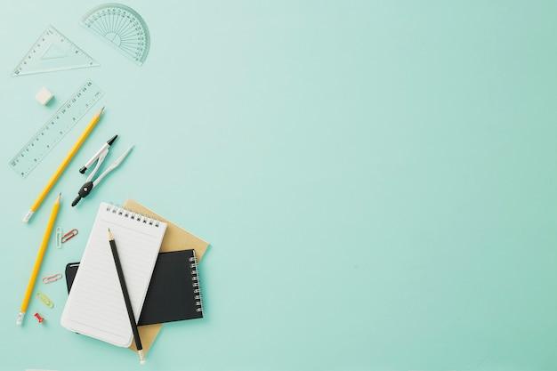Studentenbüro, konzept zurück zu schule