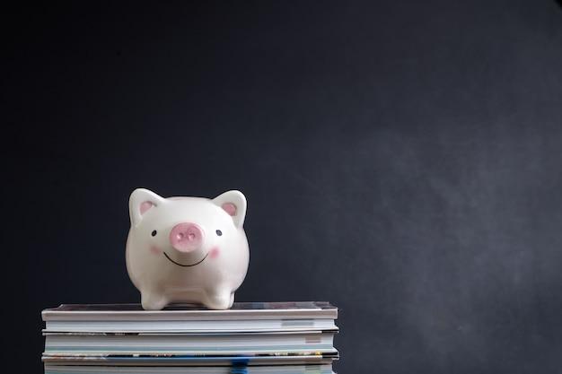 Studentendarlehen, sparen für schule oder stipendienkonzept