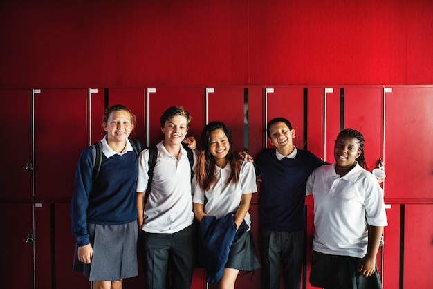 Studentenfreundschaft in der schule