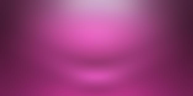 Studio-hintergrund-konzept - abstrakter leerer purpurroter studioraumhintergrund der hellen steigung für produkt. einfacher studiohintergrund.