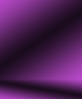 Studio-hintergrund-konzept - abstrakter leerer purpurroter studioraumhintergrund der hellen steigung für produkt.