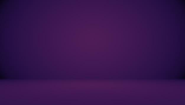 Studio-hintergrund-konzept - abstrakter leerer purpurroter studioraumhintergrund der hellen steigung für produkt. Kostenlose Fotos
