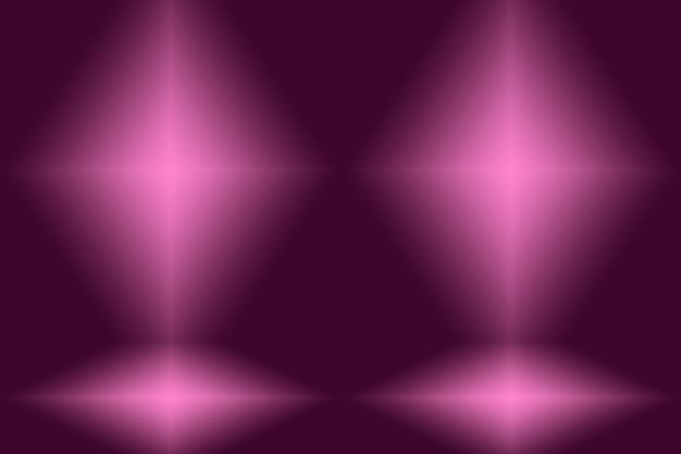 Studio-hintergrund-konzept - abstrakter lila hintergrund des leeren lichtgradienten.