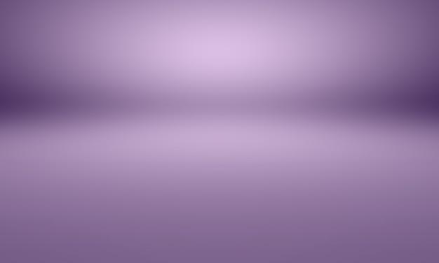 Studio-hintergrund-konzept - abstrakter purpurroter studioraumhintergrund der dunklen steigung für produkt.