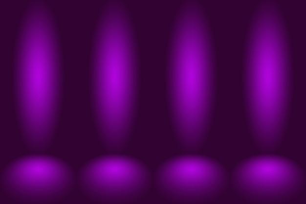 Studio-hintergrund-konzept - lila studioraumhintergrund der dunklen steigung für produkt.