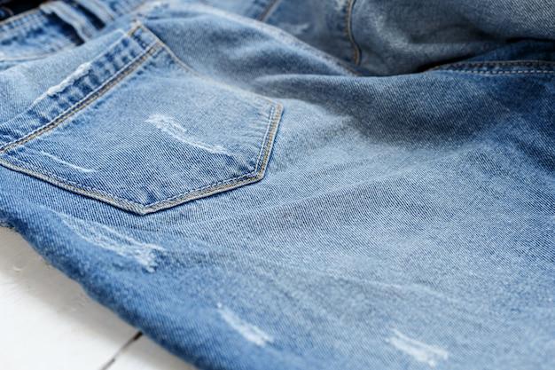 Studioaufnahme jeans, kleidung, denim