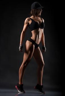 Studioaufnahmen für fitnessfrauen