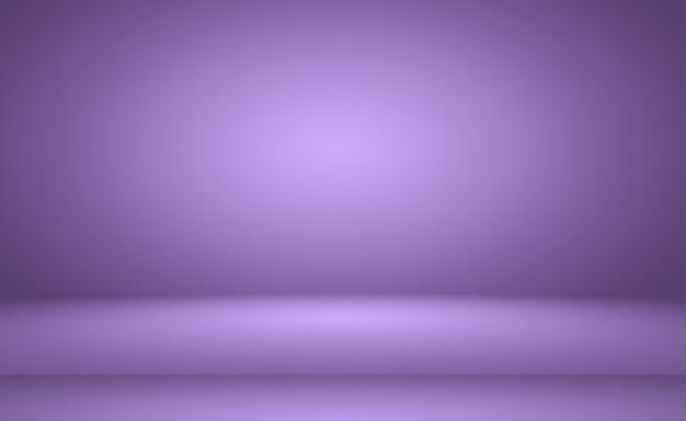 Studiohintergrundkonzept abstrakter leerer heller farbverlauf lila studioraumhintergrund für produkt p ...