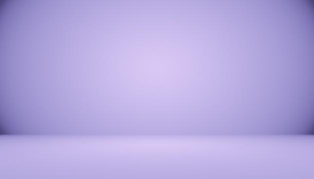 Studiohintergrundkonzept abstrakter leerer heller gradient lila studioraumhintergrund für produkt