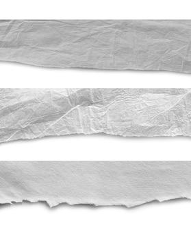 Stücke heftiger papierbeschaffenheitshintergrund, kopienraum.