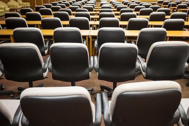 Stuhl im konferenzraum