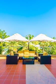 Stuhl niemand sommer lebensstil terrasse