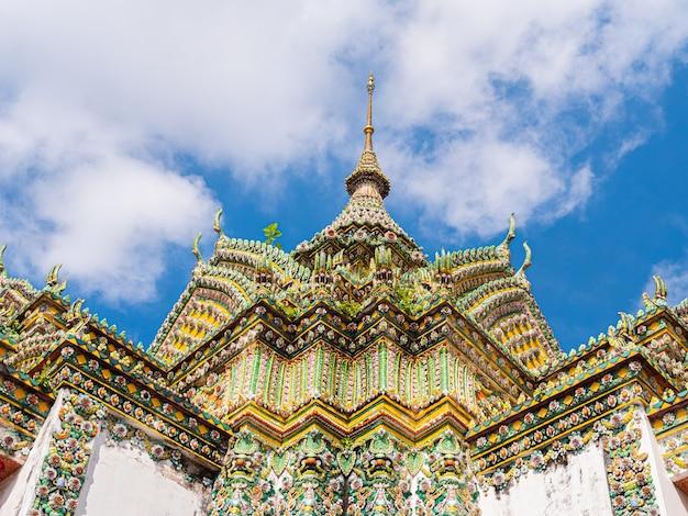 Stupa von wat arun tempel bangkok