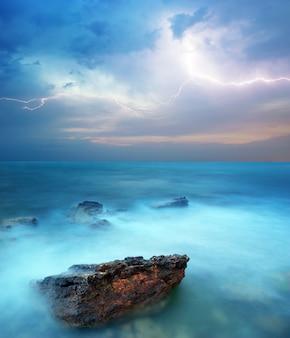 Sturm im meer