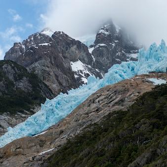 Südliches patagonisches eisfeld, bernardo o'higgins nationalpark, patagonia, chile