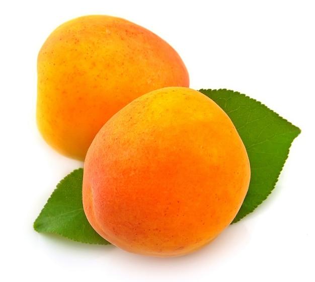 Süße aprikosen
