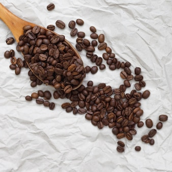 Süße aromatische kaffeebohnen