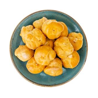 Süße köstliche knusprige hausgemachte kränzchen.