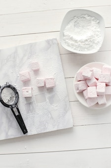 Süße marshmallows