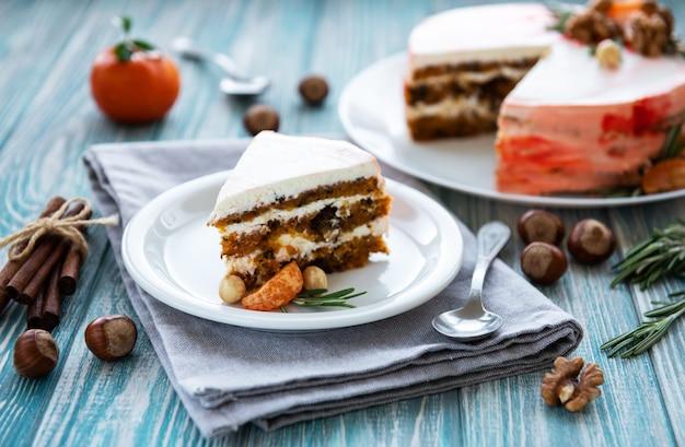 Süßer karottenkuchen