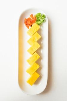 Süßer omelett-tamago