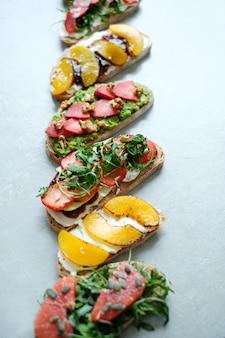 Süßes sandwich