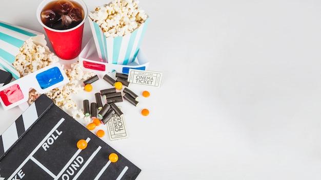 Süßes und kino zeug