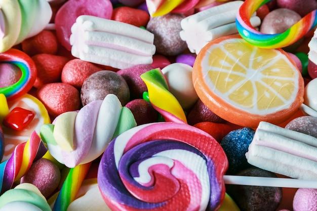 Süßigkeiten, gummi, süßigkeiten, marmelade und andere süßigkeiten