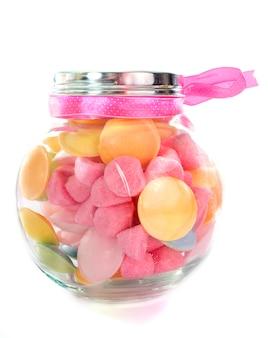 Süßigkeiten in der flasche