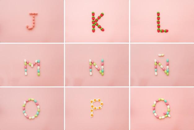 Süßigkeiten und briefe