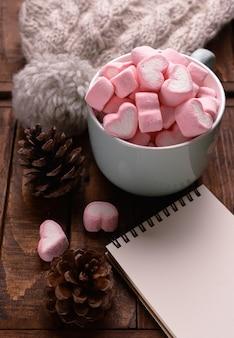 Süßigkeitseibische auf tabelle