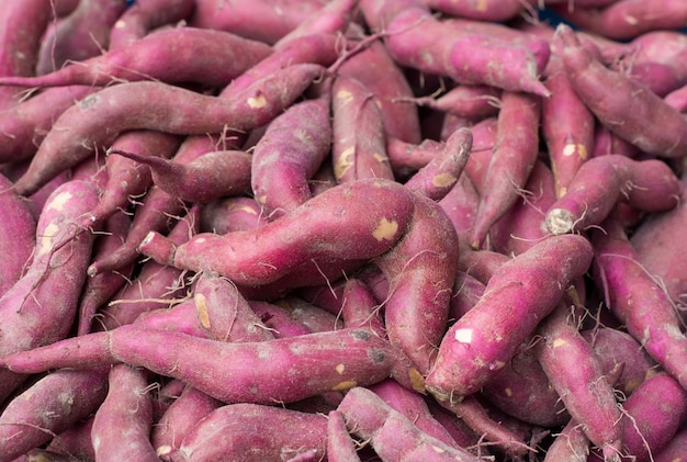 Süßkartoffel hintergrund
