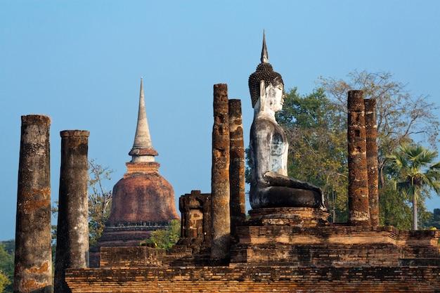 Sukhothai historischer park, thailand, weltkulturerbe
