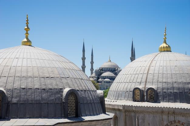 Sultan ahmed blaue moschee, istanbul die türkei