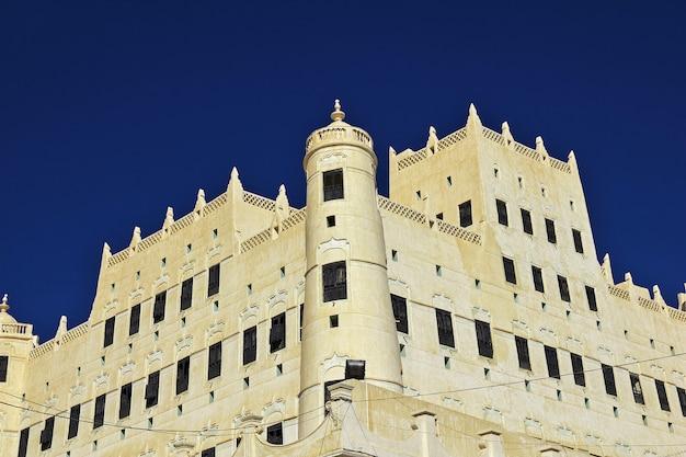 Sultans palace, seyun, wadi hadramaut, jemen