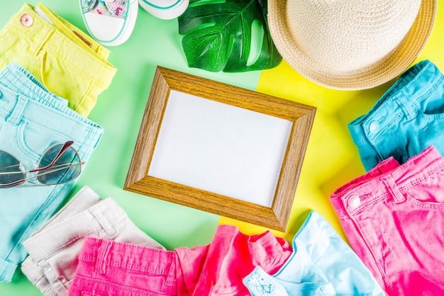 Summer sale shopping-konzept