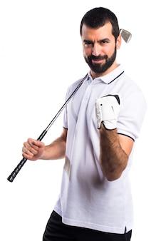 Super golf erfolgreich schuss schaukel