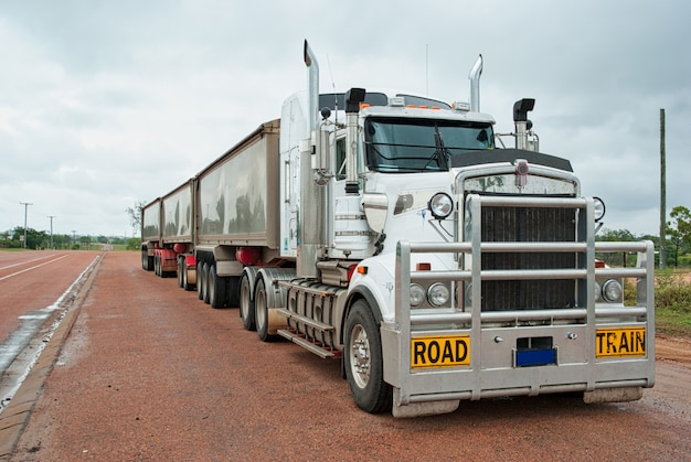 Super langer güterwagen für langen güterverkehr in australien