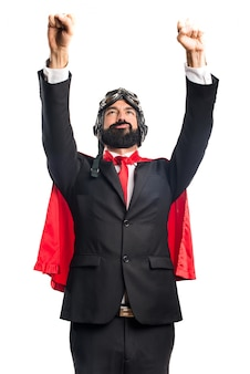 Superheld geschäftsmann