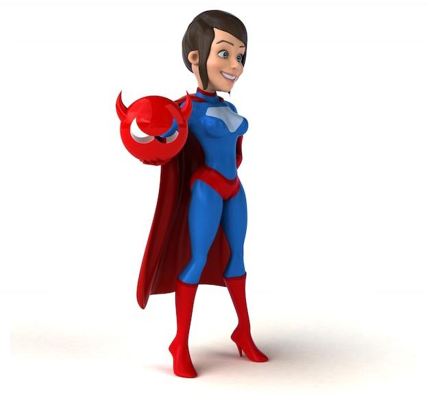 Superheldenfrau