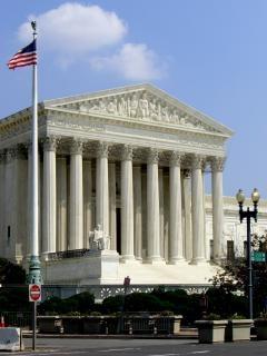 Supreme court - washington dc, wahrzeichen, der gerechtigkeit